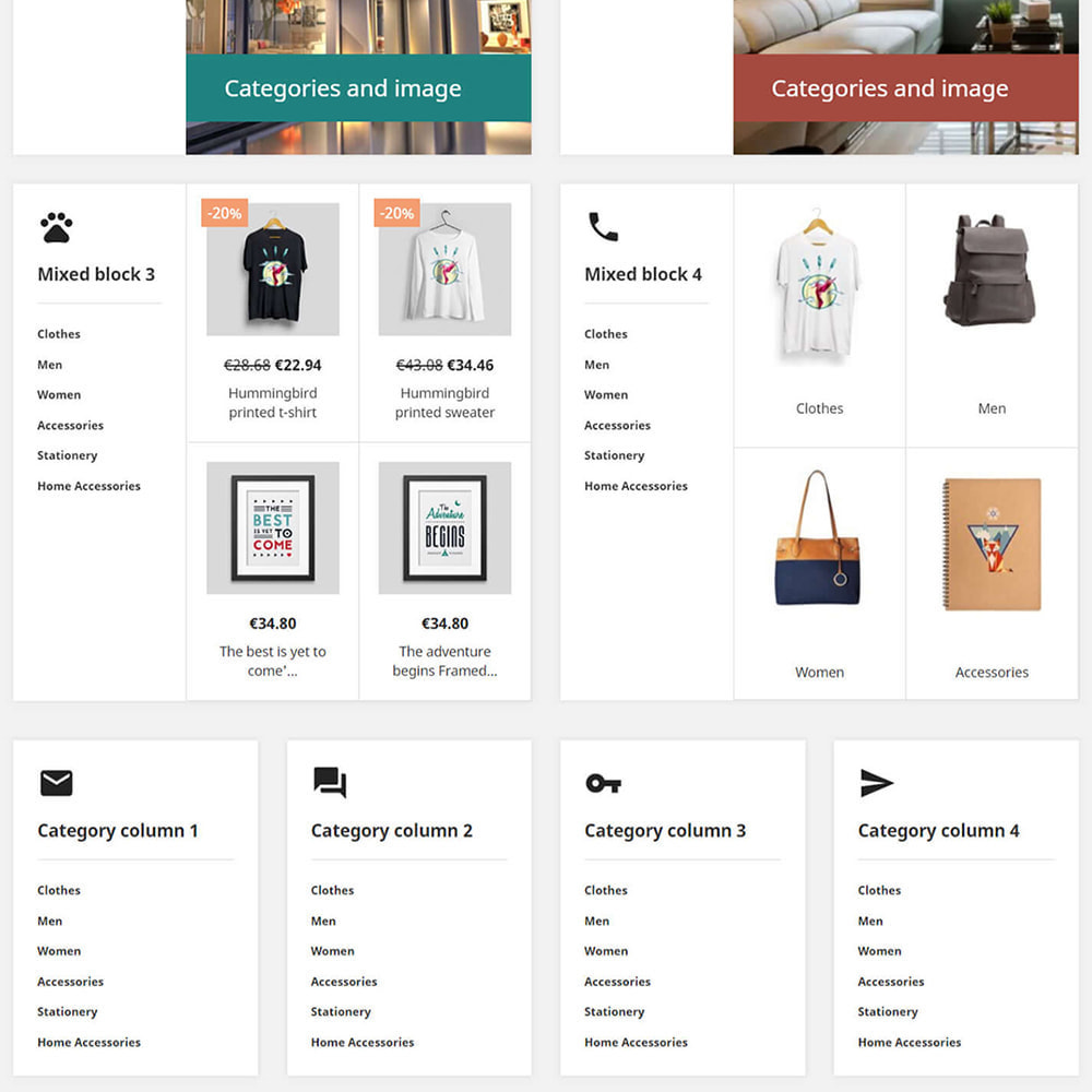 module - Products on Homepage - Custom product blocks and listings for homepage - 4