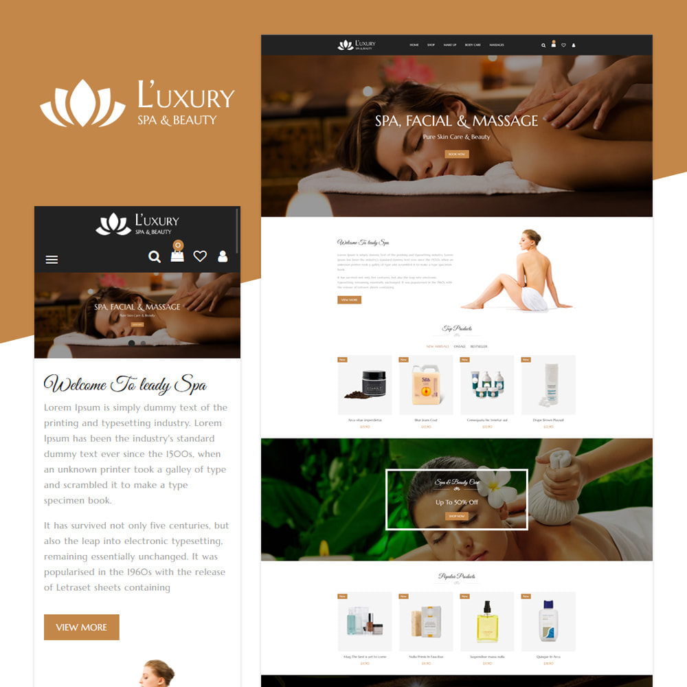 theme - Health & Beauty - Spa Store - 1