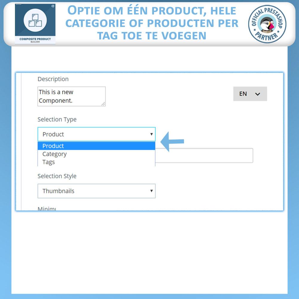 module - Kruisverkoop & Pakketaanbiedingen - Samengestelde Product Bouwer - 11