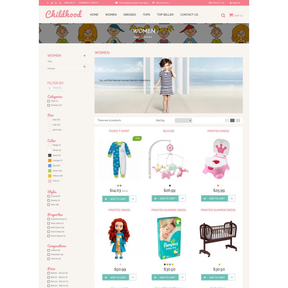 theme - Crianças & Brinquedos - Baby Childhood - 5