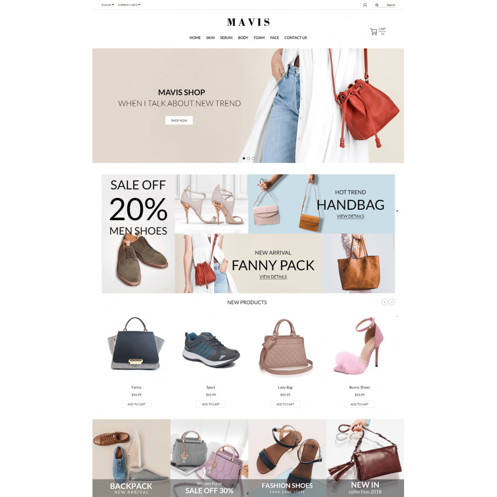 theme - Мода и обувь - Mavis Fashion Store - 4