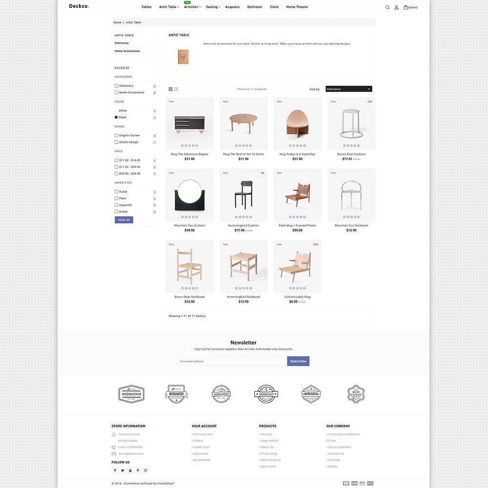 theme - Huis & Buitenleven - Deckzo - The Best Furniture Store - 5