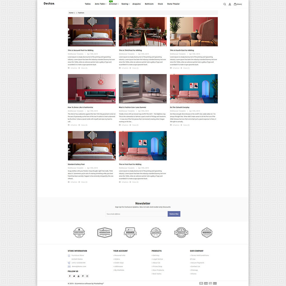 theme - Huis & Buitenleven - Deckzo - The Best Furniture Store - 8