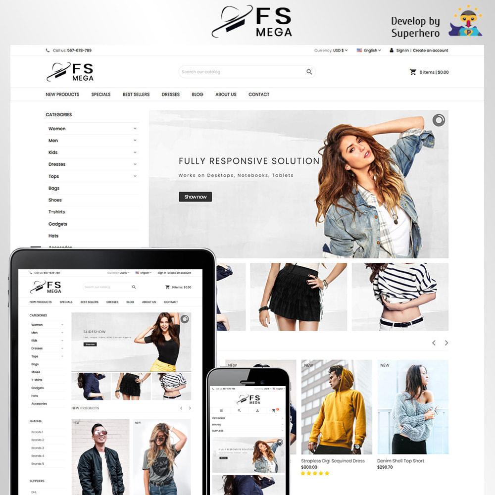 theme - Moda & Obuwie - Mega Fashion Store - 2