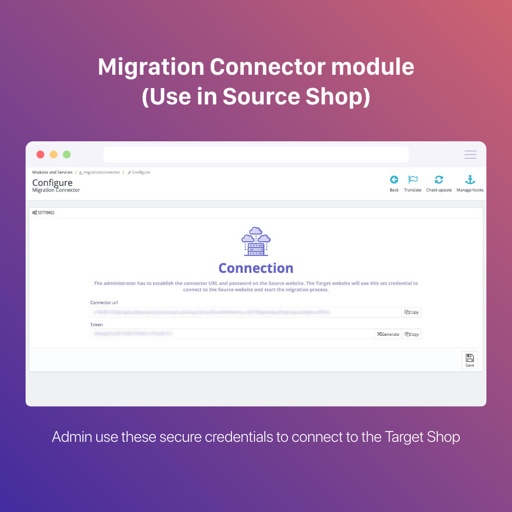module - Миграции и сохранения данных - Prestashop Migration Tool - Upgrade or Migrate to 1.7 - 1