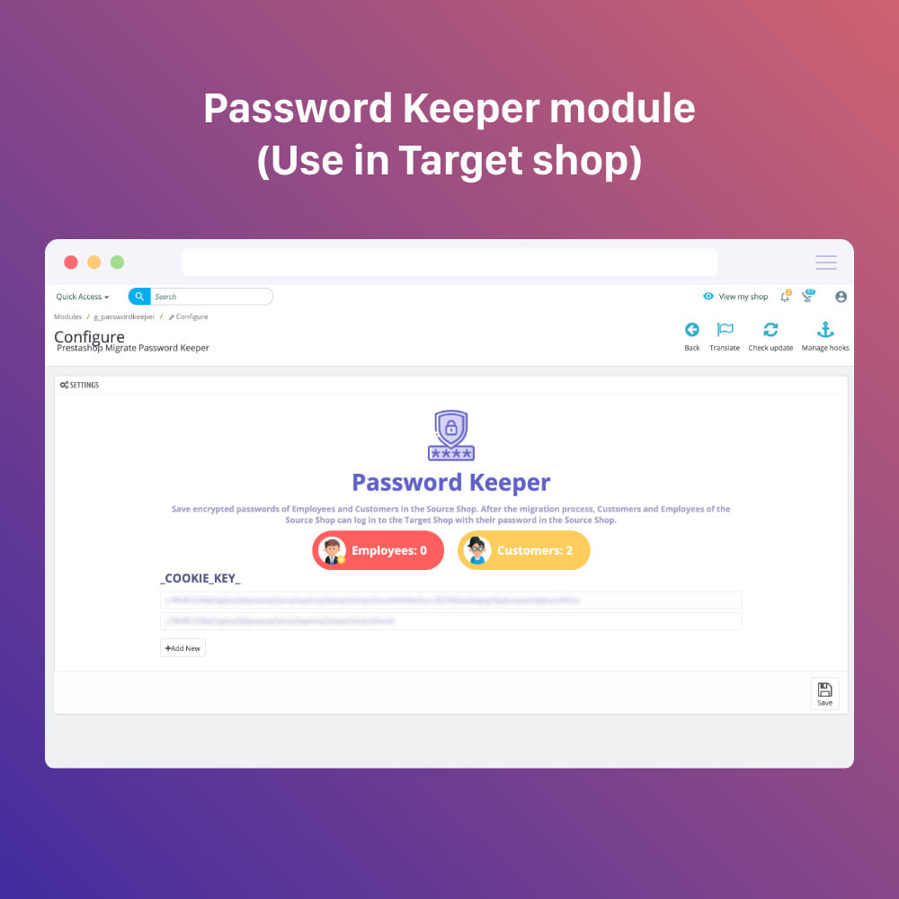 module - Миграции и сохранения данных - Prestashop Migration Tool - Upgrade or Migrate to 1.7 - 2
