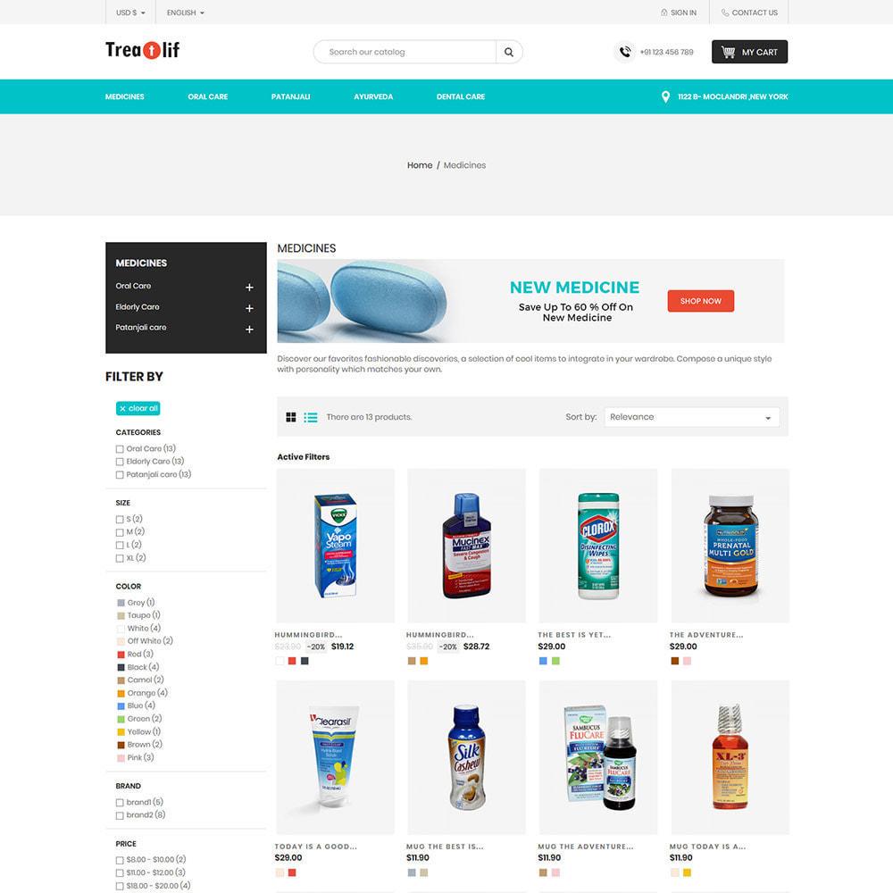 theme - Saúde & Beleza - Medical Drug  - Wellness Medicine Natural  Store - 3