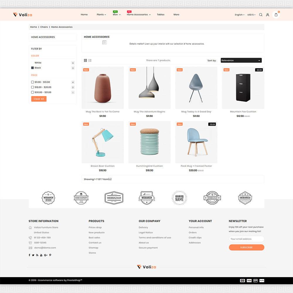 theme - Casa & Jardins - Voliza - The Best Furniture Store - 3