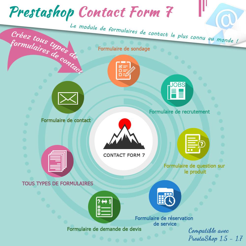 module - Formulaires de Contact & Sondages - Contact Form 7 – Générateur de formulaires de contact - 1