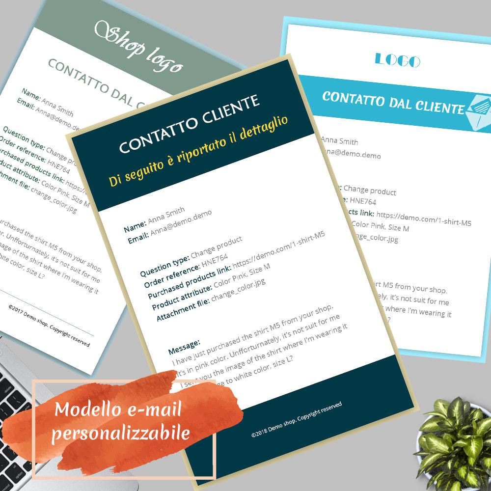 module - Form di contatto & Questionari - Contact Form 7 – Creatore di moduli contatto flessibili - 4