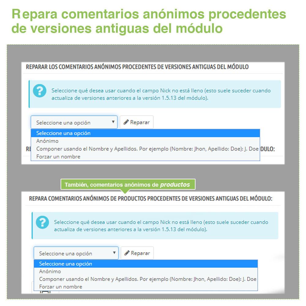 module - Comentarios de clientes - Opiniones Tienda + Opiniones Productos + Rich Snippets - 16