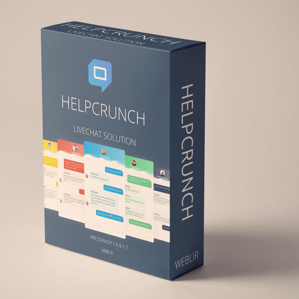 module - Customer Service - HelpCrunch - Customer Communication Platform - 1