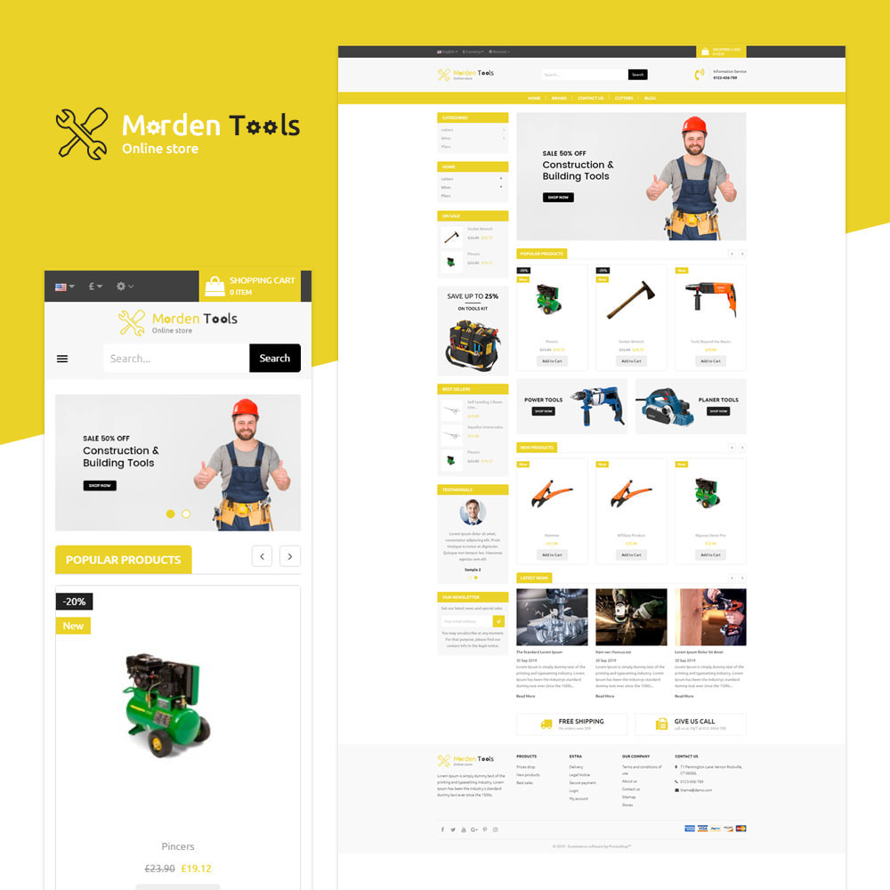 theme - Auto & Moto - Tool - Magasin réactif - 1