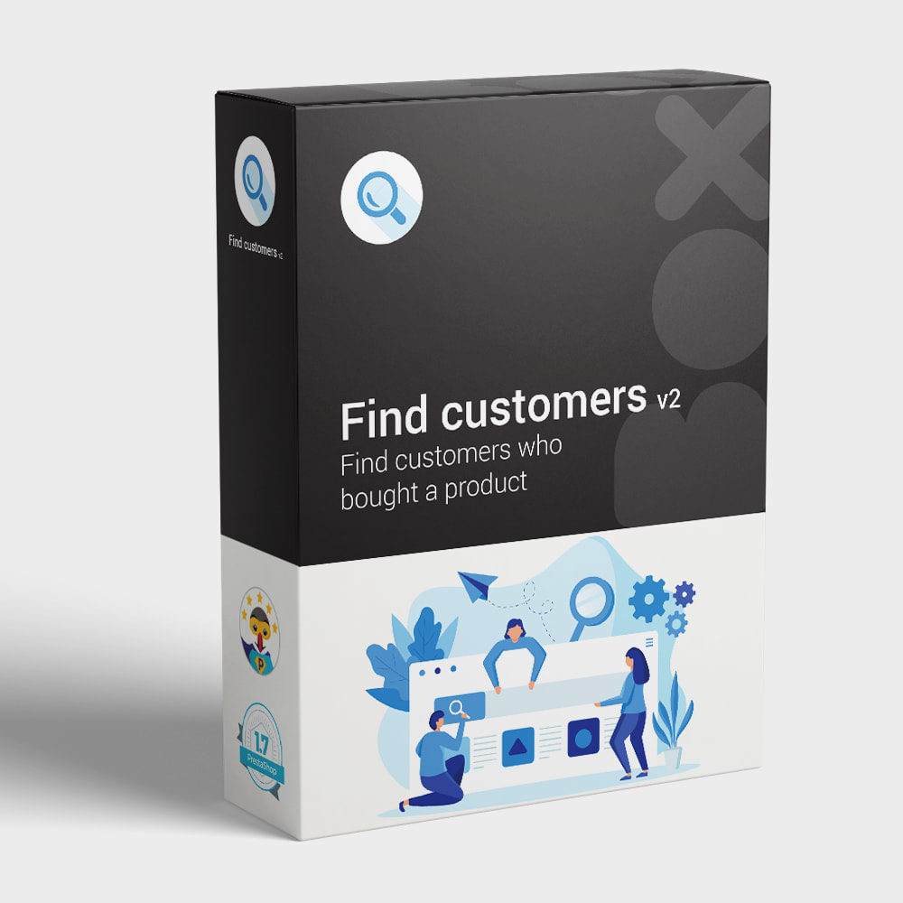 module - Customer Administration - Find customers who bought a product - 1