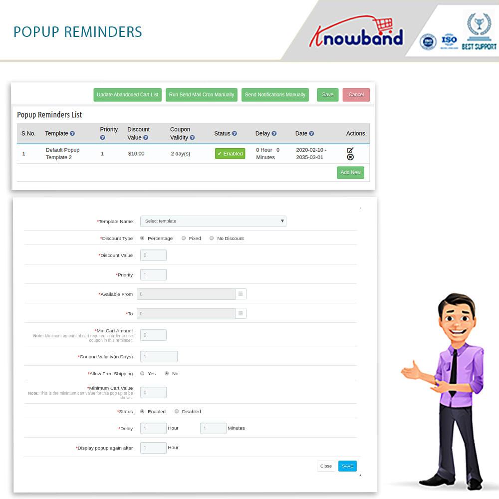 module - Remarketing & Warenkorbabbrüche - Erinnerer für stehengelassene Einkaufswagen(smart) - 3