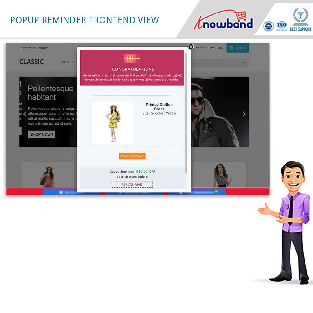 module - Remarketing & Warenkorbabbrüche - Erinnerer für stehengelassene Einkaufswagen(smart) - 8