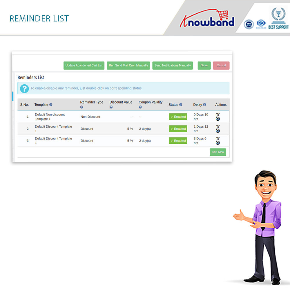 module - Remarketing & Warenkorbabbrüche - Erinnerer für stehengelassene Einkaufswagen(smart) - 10