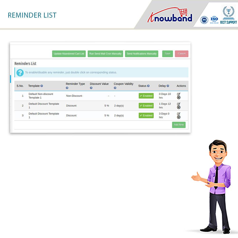 module - Remarketing & Warenkorbabbrüche - Erinnerer für stehengelassene Einkaufswagen - 10