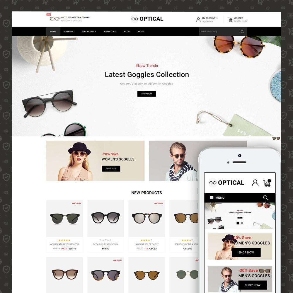 theme - Joalheria & Acessórios - Optical - Goggles Store - 1