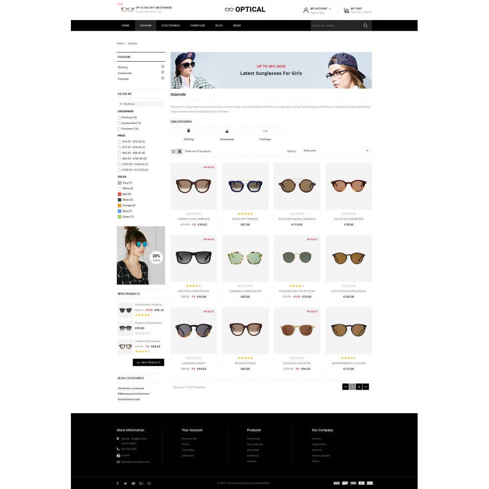 theme - Joalheria & Acessórios - Optical - Goggles Store - 3