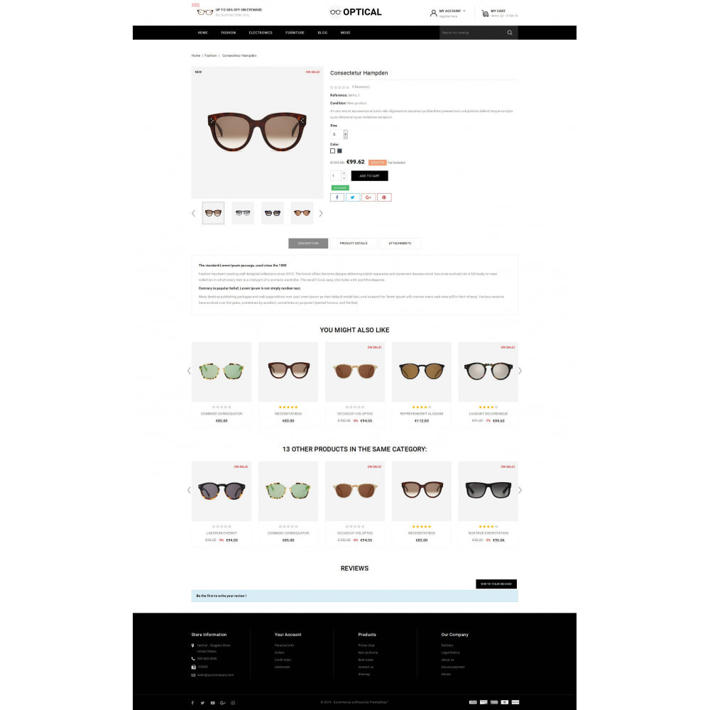 theme - Jewelry & Accessories - Optical - Goggles Store - 5
