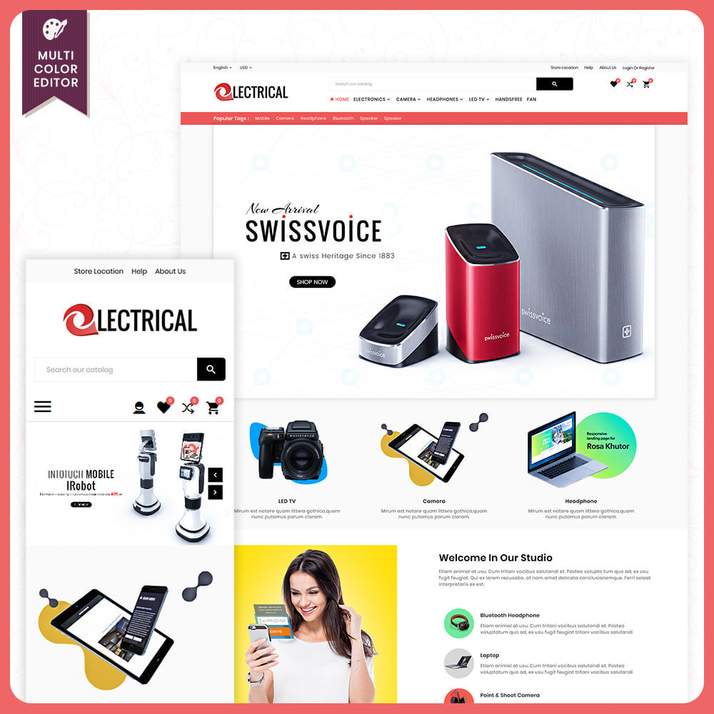 theme - Electronique & High Tech - Electrical – Electronic Mega Mart - 1