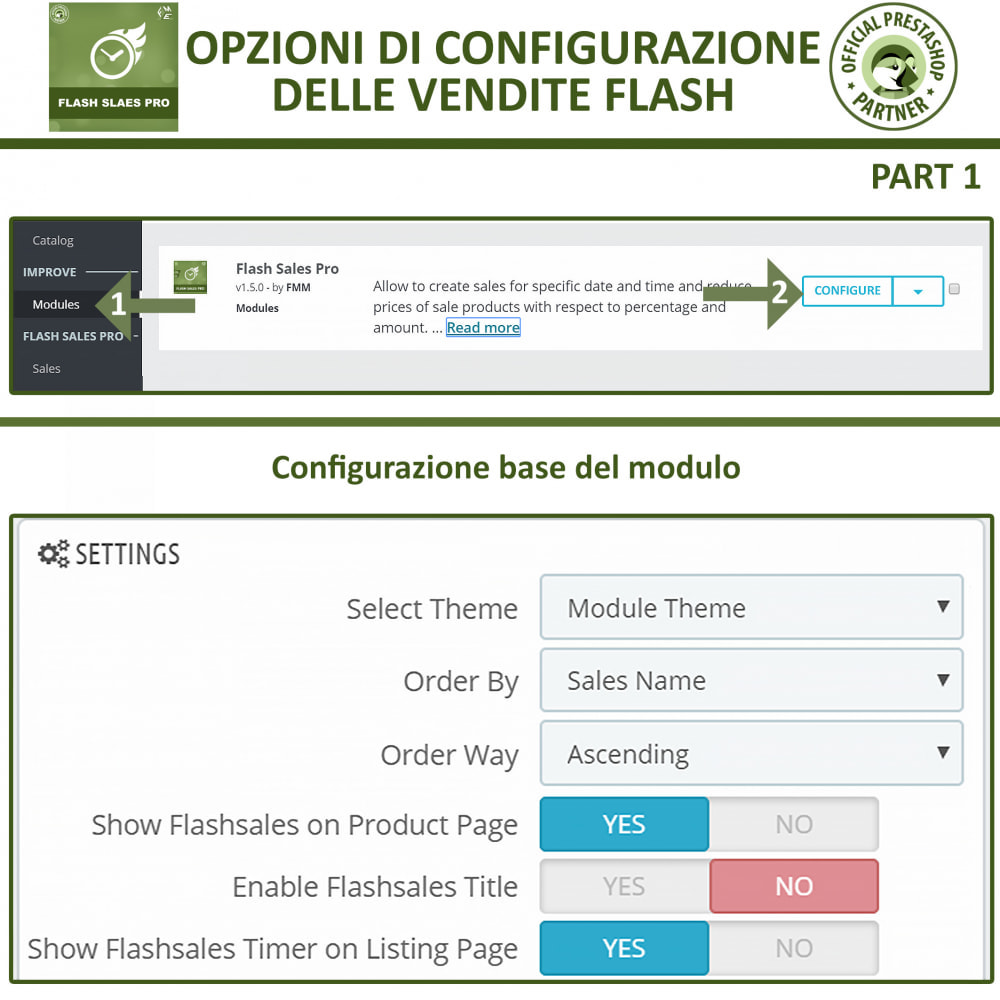 module - Flash & Private Sales - Vendite Flash con Timer di Conto alla Rovescia - 15