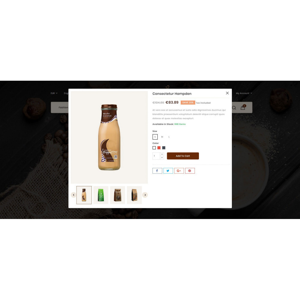theme - Lebensmittel & Restaurants - Fresh Coffee Shop - 7