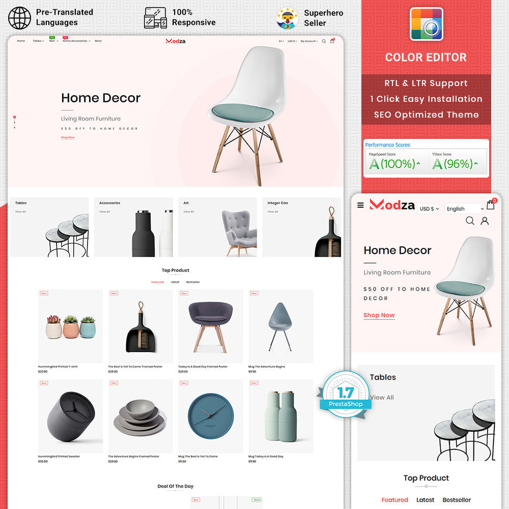 theme - Huis & Buitenleven - Modza - The Best Furniture Store - 1