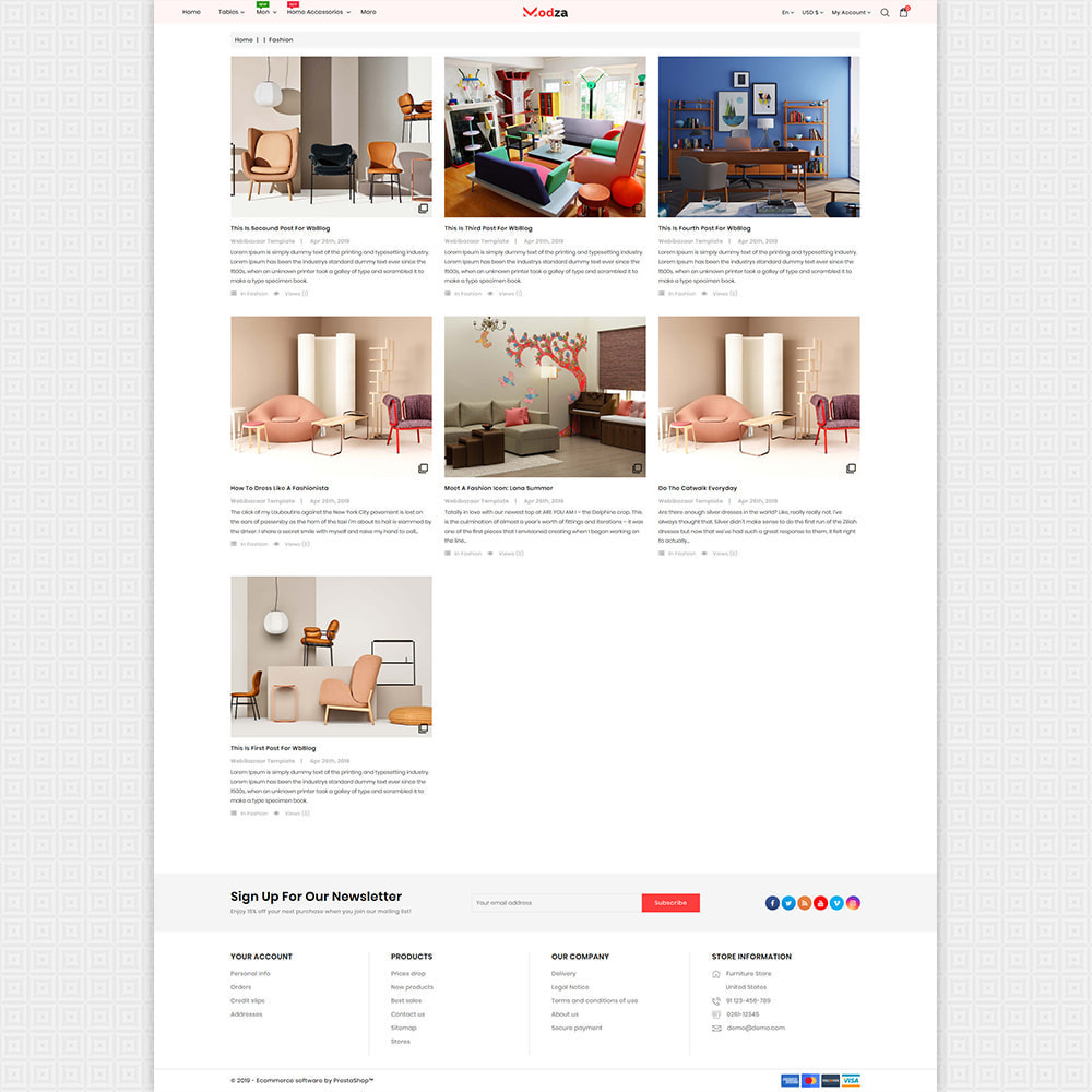 theme - Huis & Buitenleven - Modza - The Best Furniture Store - 6
