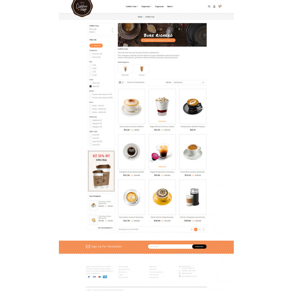 theme - Boissons & Tabac - Coffee Cup - Sweet & Drinks - 5