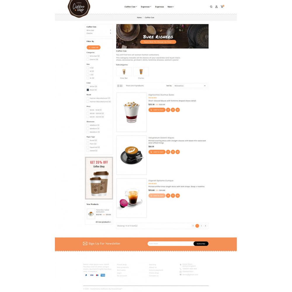 theme - Boissons & Tabac - Coffee Cup - Sweet & Drinks - 6