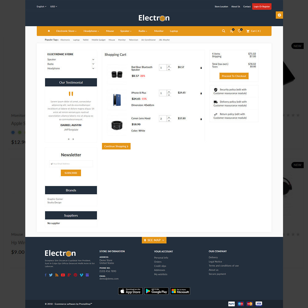 theme - Electronique & High Tech - Electron–Electronic Mega Mall - 4