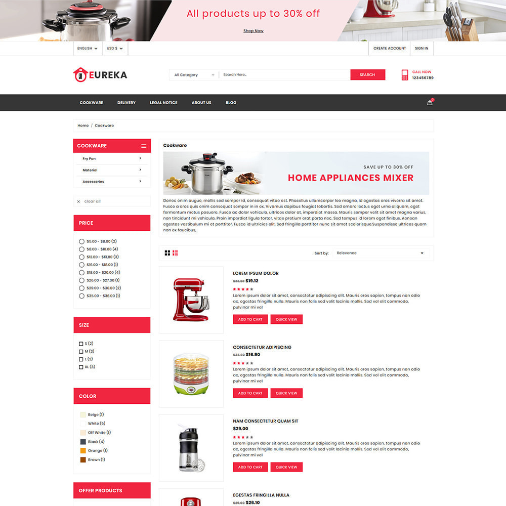 theme - Eletrônicos & High Tech - Eureka Home Appliances Shop - 4
