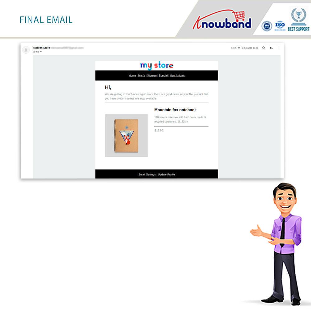 module - E-mails y Notificaciones - Knowband - Notificación De Nuevo En Inventario - 9