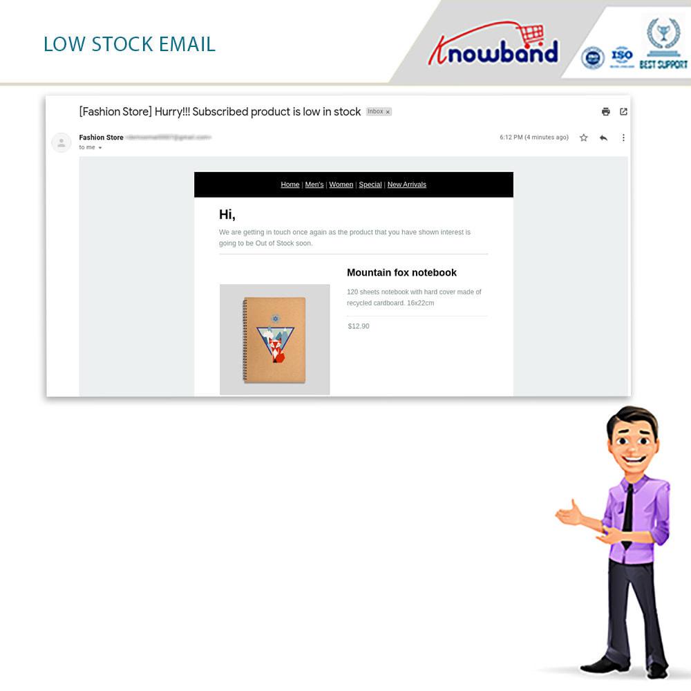 module - E-mails y Notificaciones - Knowband - Notificación De Nuevo En Inventario - 12