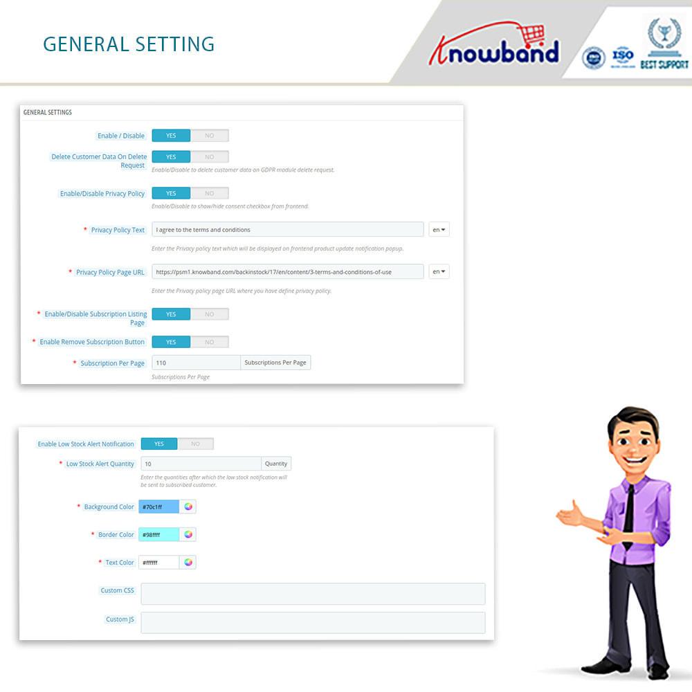 module - E-Mails & Benachrichtigungen - Knowband- Wieder-auf-Lager-Benachrichtigungen - 9