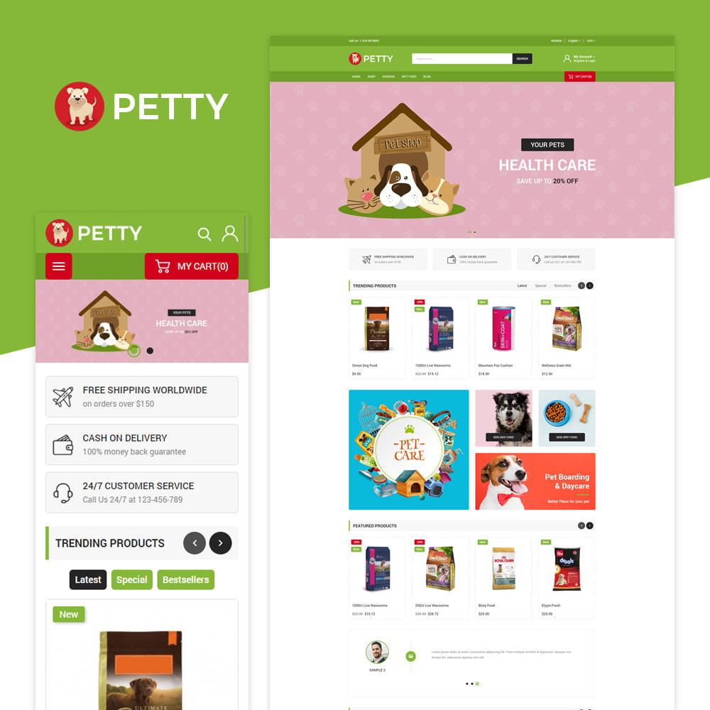 theme - Animais - Petty store - 2
