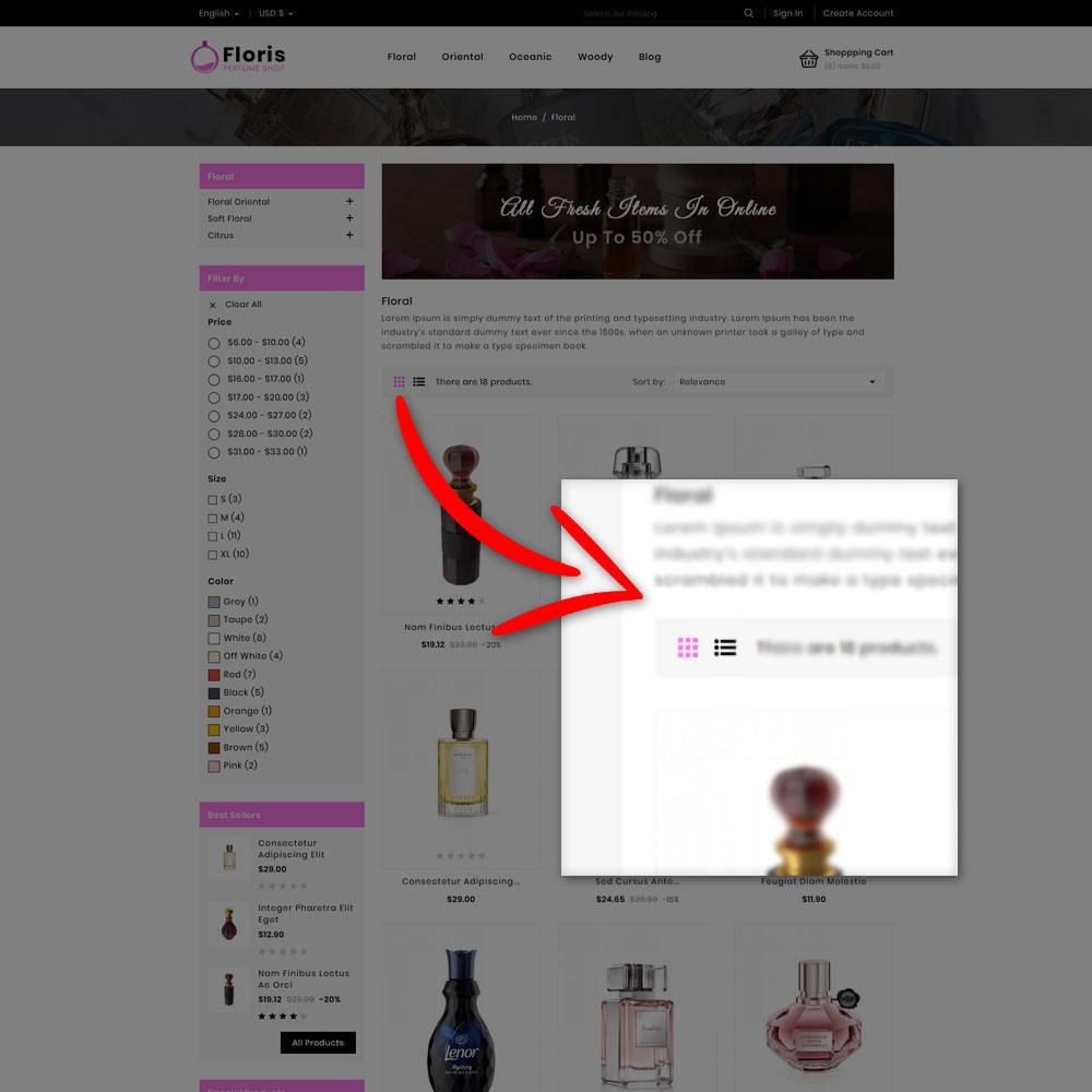 theme - Prezenty, Kwiaty & Uroczystości - Floris - Perfume Shop - 6