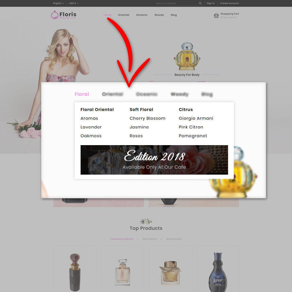 theme - Prezenty, Kwiaty & Uroczystości - Floris - Perfume Shop - 9