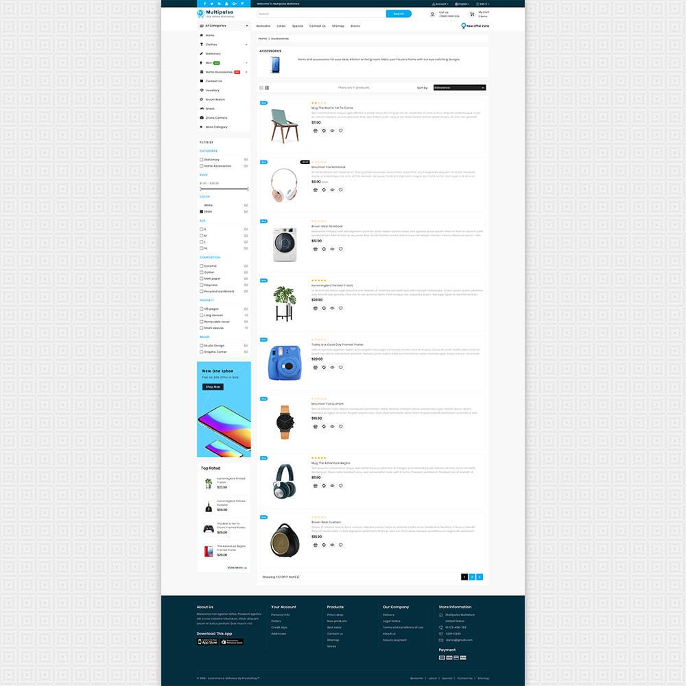 theme - Elettronica & High Tech - MultiPluse - Unique Super Multi Store - 4