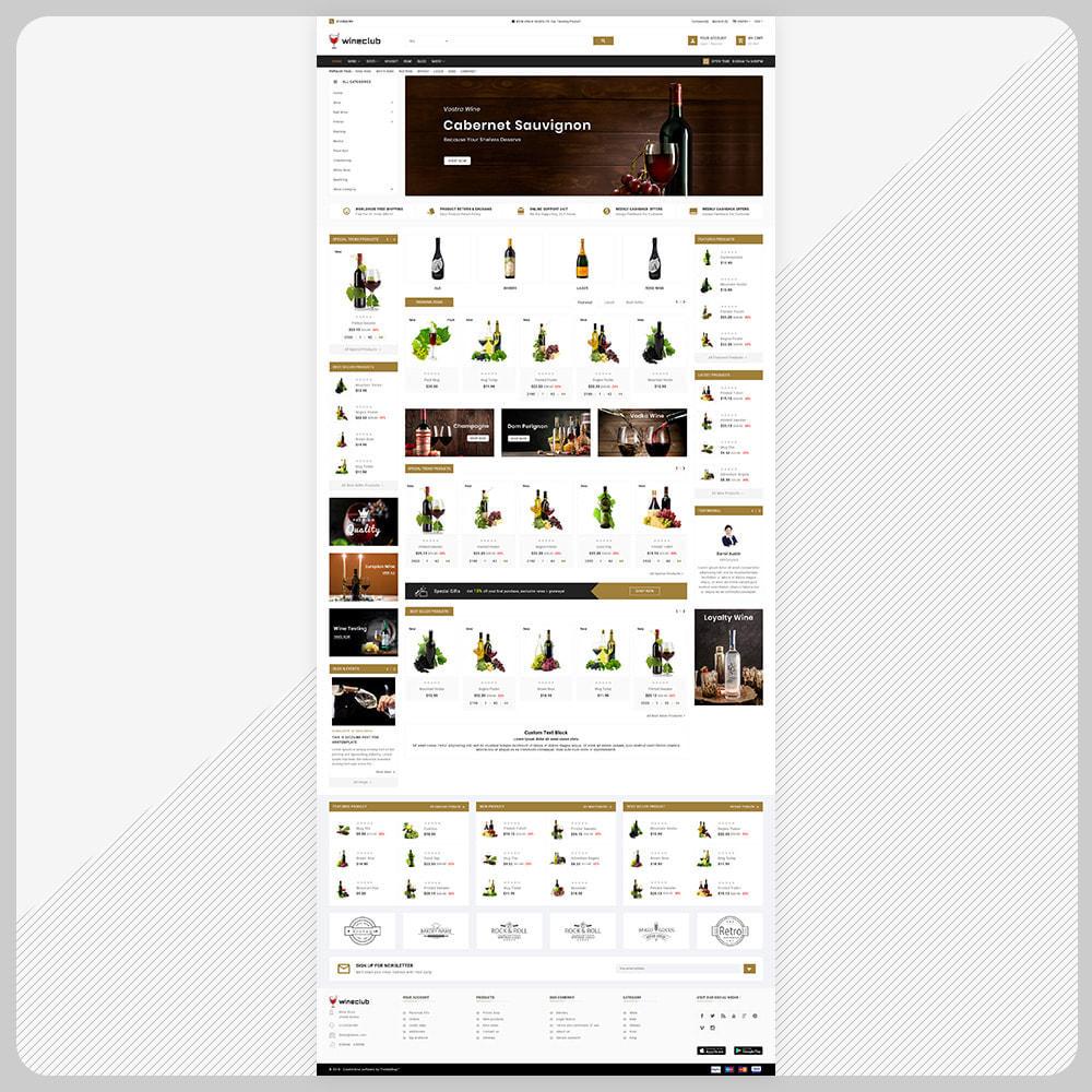 theme - Bebidas & Tabaco - USA Wine - Wine Big Store - 2