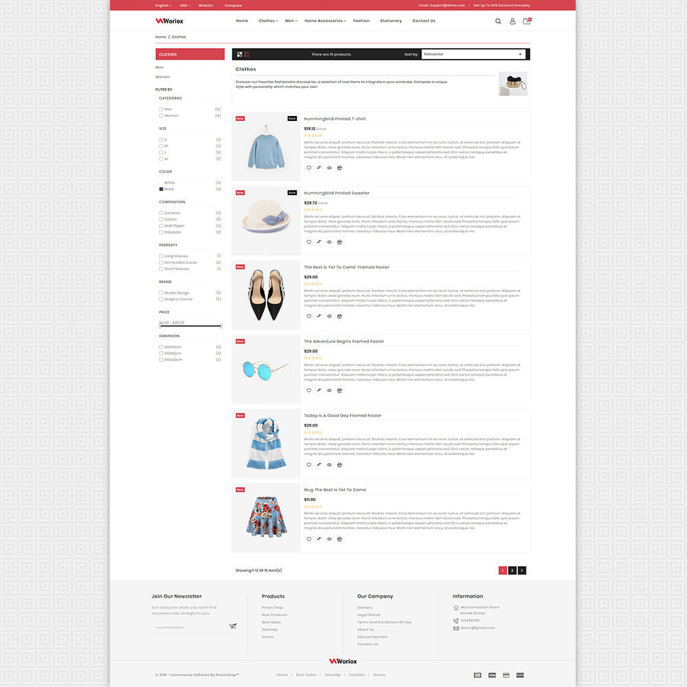 theme - Moda y Calzado - Woriox - Fashion & Clothing Store - 5