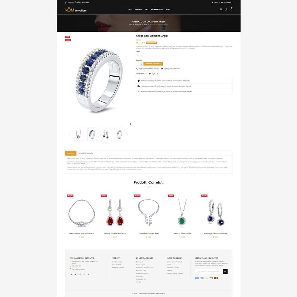 theme - Bellezza & Gioielli - Negozio di gioielli Som - 5