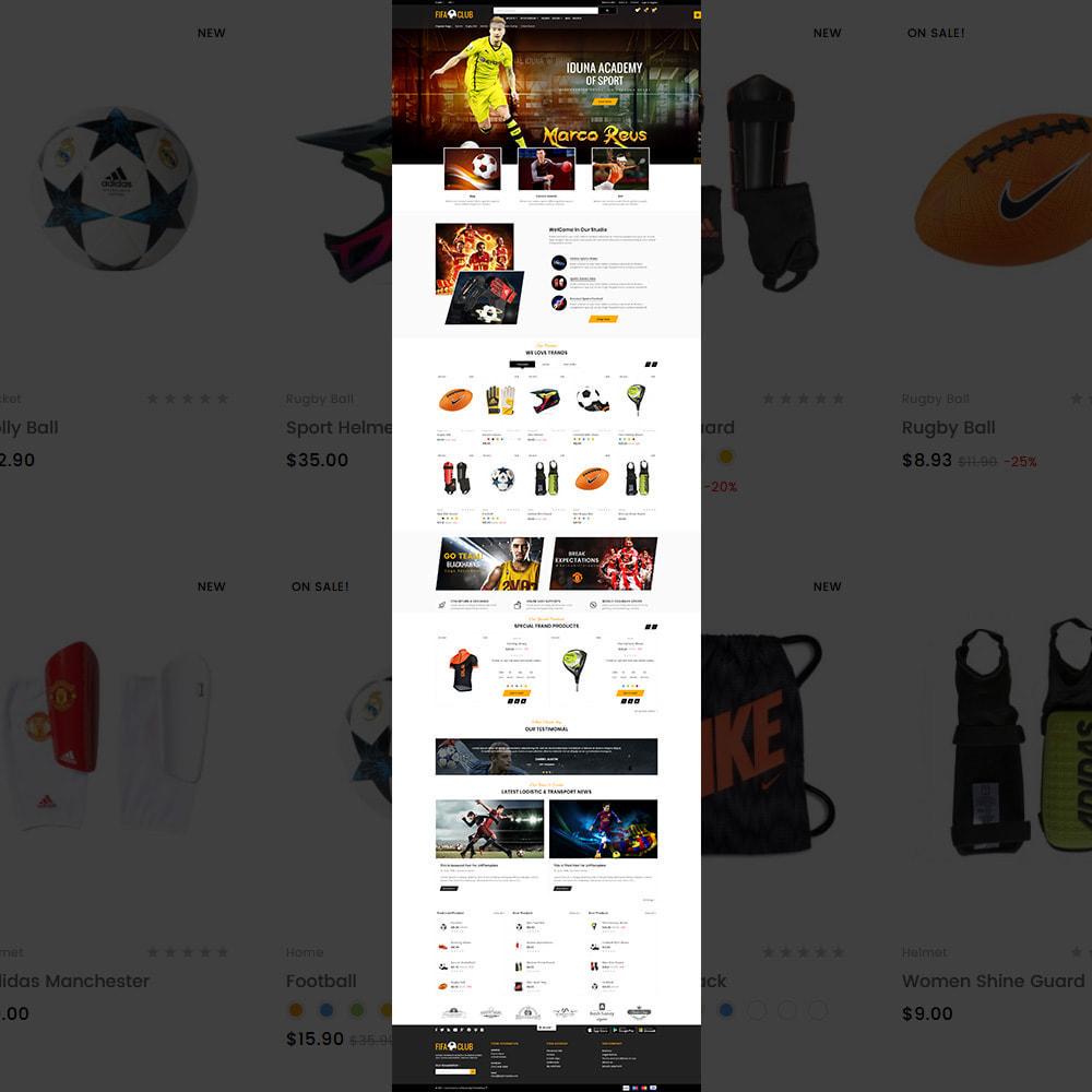 theme - Sport, Attività & Viaggi - Fifa Club Sports–Accessories Store - 2