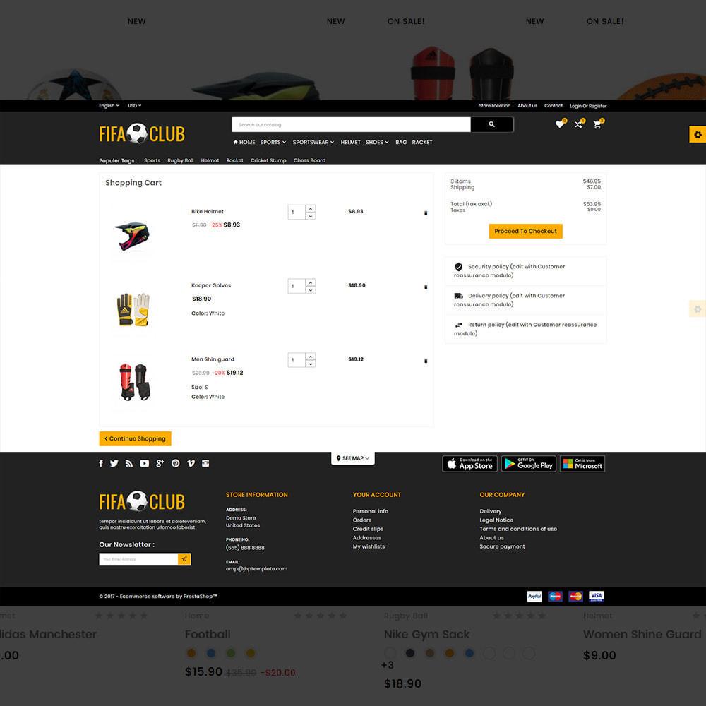 theme - Sport, Attività & Viaggi - Fifa Club Sports–Accessories Store - 5