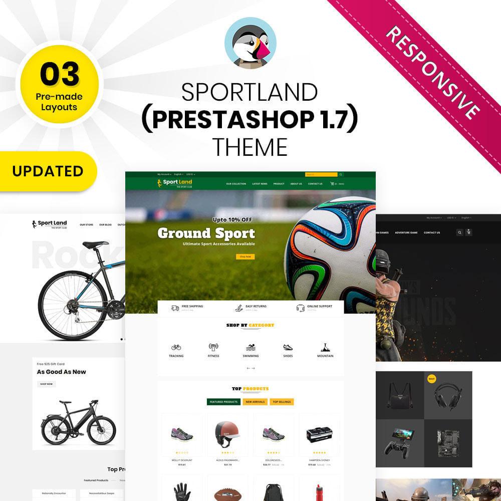 theme - Deportes, Actividades y Viajes - Sport Land - La tienda Mega Sport - 2