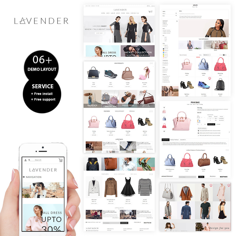 theme - Moda & Calzature - Laven Fashion Store - 1