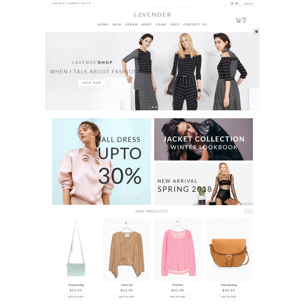 theme - Moda & Calzature - Laven Fashion Store - 2