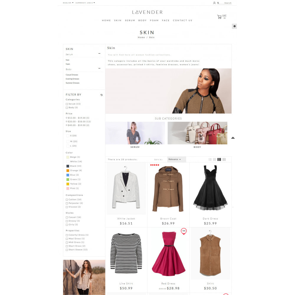 theme - Moda & Calzature - Laven Fashion Store - 5